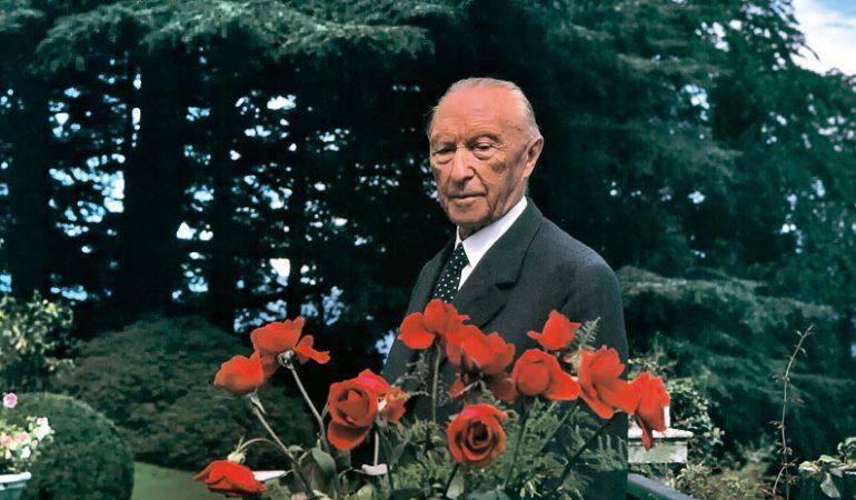 """Konradas Adenaueris: """"Kai kitiems atrodo,  kad viskas baigta,  mūsų eilė pradėti veikti"""""""