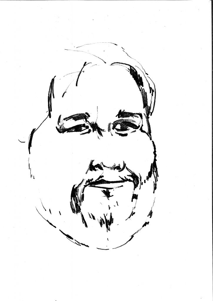 A. Navickas. Piešinio autorius A. Zakarauskas.
