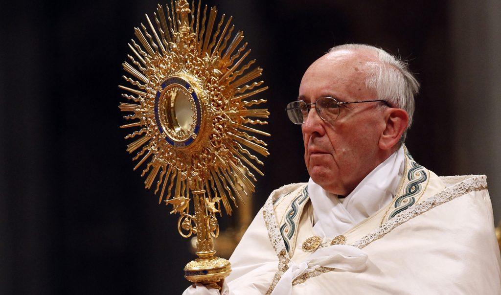 Popiežius Pranciškus: mūsų jėga - Jėzus Kristus.