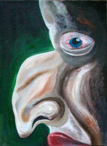 Nosis III. 2010. Drobė, aliejus, 93x68. Dainiaus Gintalo darbas