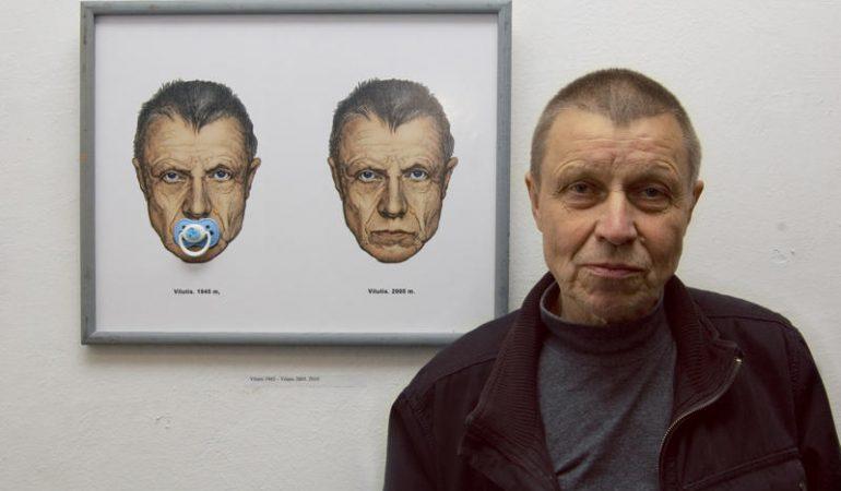 """Mikalojus Povilas Vilutis: """"Jei dailininkas nemeluoja, jis paišo save"""""""