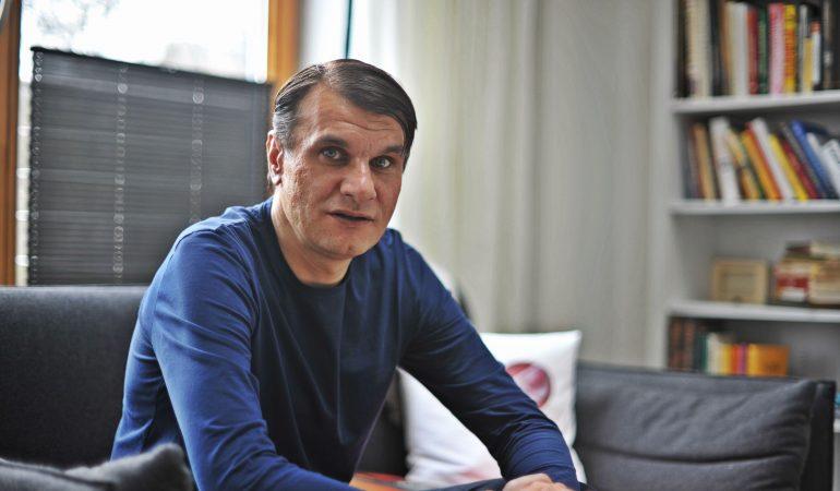 """Poetas Rimvydas Stankevičius: """"Visa, kas supa žmogų, jam gali tapti poezija…"""""""