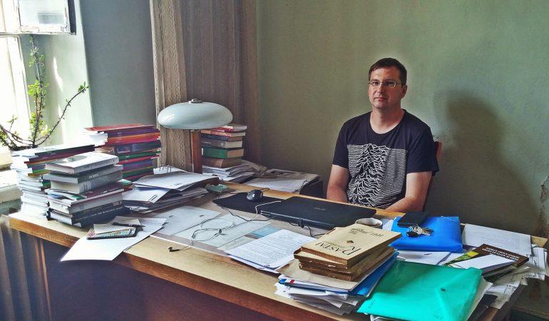 """""""Metų"""" redakcijoje. Gedimino Kajeno nuotrauka"""