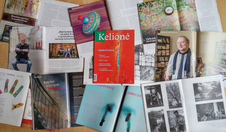 """Žurnalas """"Kelionė"""": apie kasdienius apsisprendimus ir pasirinkimus"""