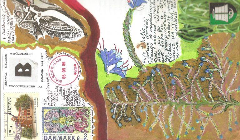 Gyvenimo koliažas dailininkės Gražinos Didelytės dienoraštyje