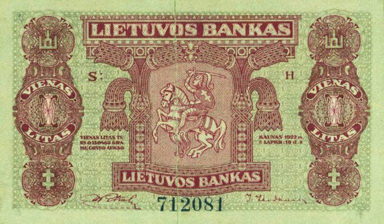 Spalio 2-oji diena istorijoje. Lietuviškos nacionalinės valiutos gimtadienis