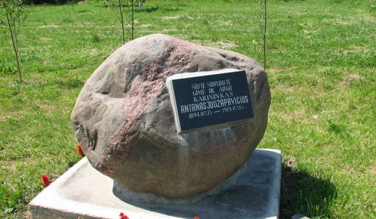 A. Juozapavičius – pirmasis karininkas, kuris žuvo gindamas Nepriklausomą Lietuvą