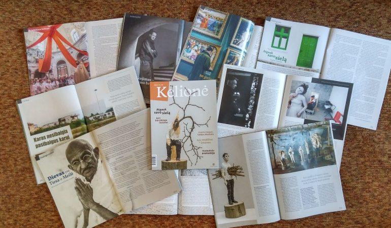"""Žurnalas """"Kelionė"""": apie kūrybą ir drąsą"""