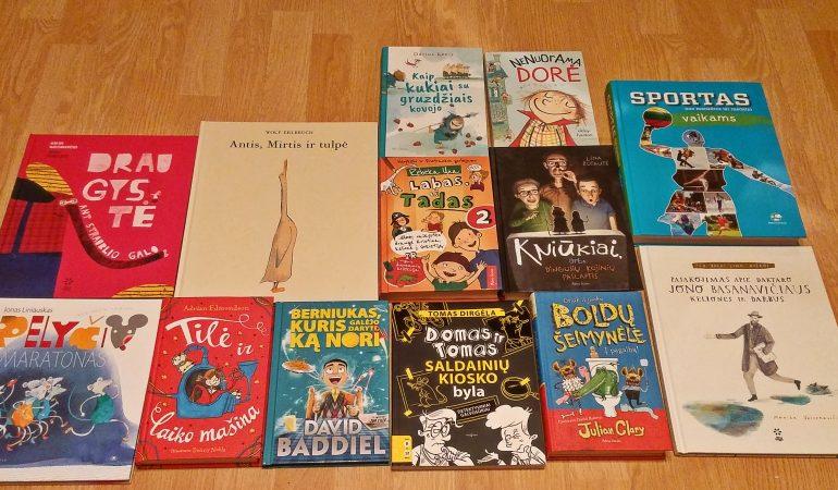 Pavasaris ir naujos knygos vaikams: spalvota, kvepia nuotykiais ir kviečia šypsotis