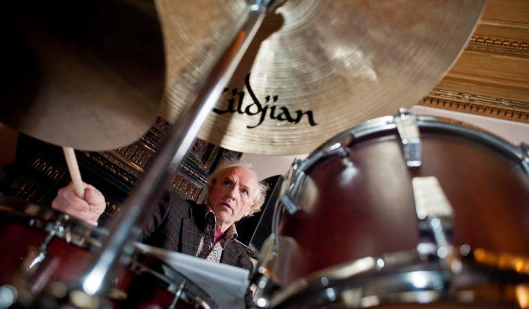 Džiazo muzikantas, būgnininkas, instaliacijų kūrėjas Vladimiras Tarasovas