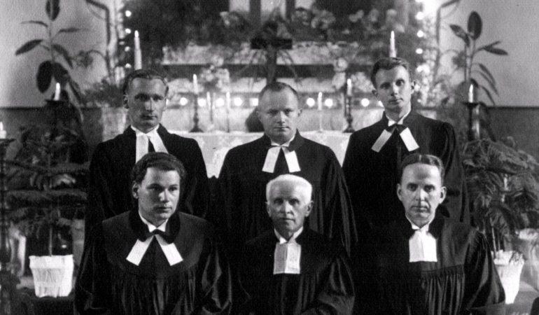 Lietuvos ir išeivijos evangelikų liuteronų vadovas Adomas Gelžinius