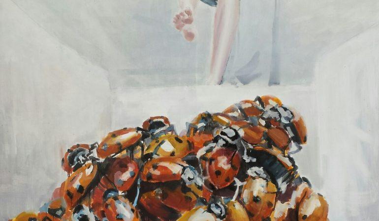 Rūtos Matulevičiūtės sfera – teptukas rankose ir žolė po kojom