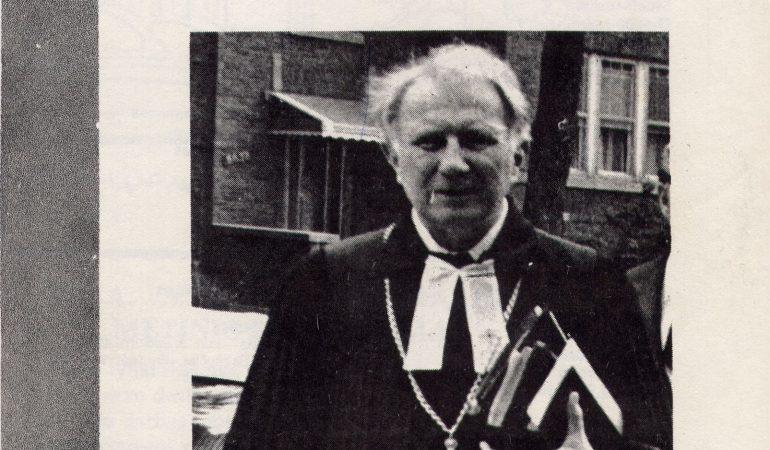 Išeivijos liuteronų vyskupas Ansas Trakis