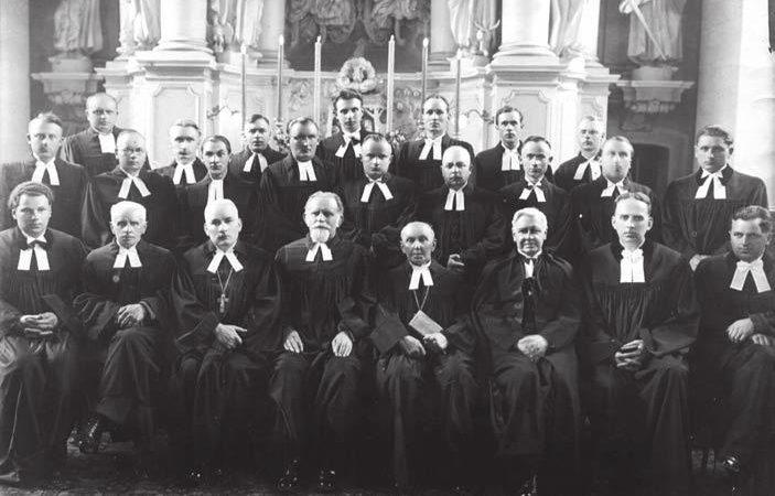 Pirmasis atkurtos Lietuvos evangelikų liuteronų bažnyčios vadovas Henrikas D. Sroka