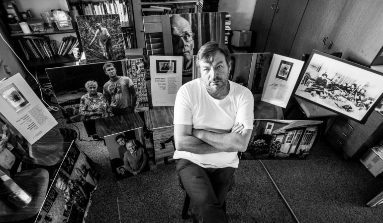 Fotografas Klaudijus Driskius. Laivės kovotojų portretai