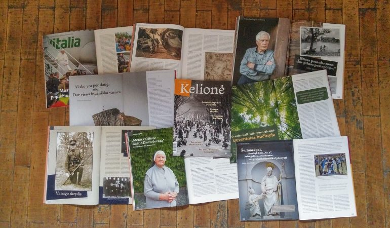 """Žurnalas """"Kelionė"""": apie mūsų dabartį, dovanų sklidiną"""