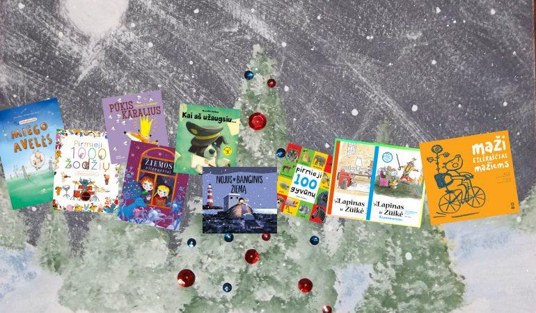 Naujos knygos ikimokyklinukams, Arba Kokią knygą Kalėdų Senelis galėtų padovanoti mažajam skaitytojui?