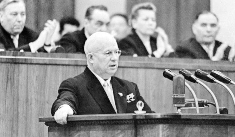 Vasario 25-oji istorijoje: SSKP XX suvažiavimas ir žymioji N. Chruščiovo kalba