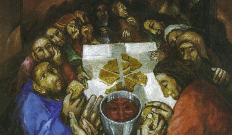 Br. Jonas Chrizostomas Švita CSJ. Valgymas prie bendro stalo ir Jėzaus sugrįžimas