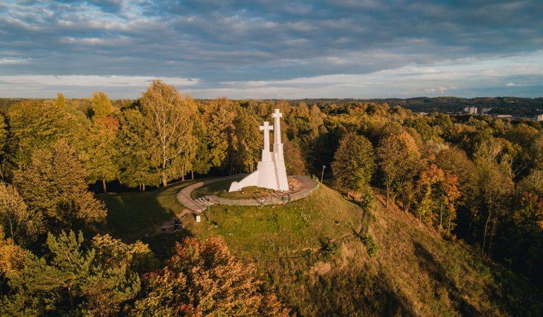 Prieš 70 metų Vilniuje susprogdintas Trijų kryžių paminklas