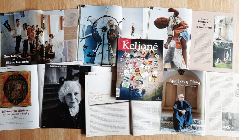 """Žurnalas """"Kelionė"""" – apie gyvenimą krizės akivaizdoje ir nepaisant jos"""