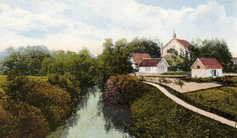 Verdainės evangelikų liuteronų bažnyčia, kurioje kunigavo Valentinas Gailius, sunaikinta sovietų okupacijos metais.