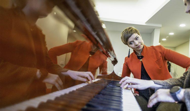Eglė Andrejevaitė. Lėtas laikas prie fortepijono