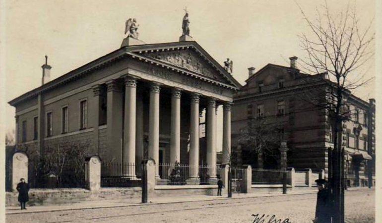 Vilniaus evangelikų reformatų bažnyčia iki Antrojo pasaulinio karo.
