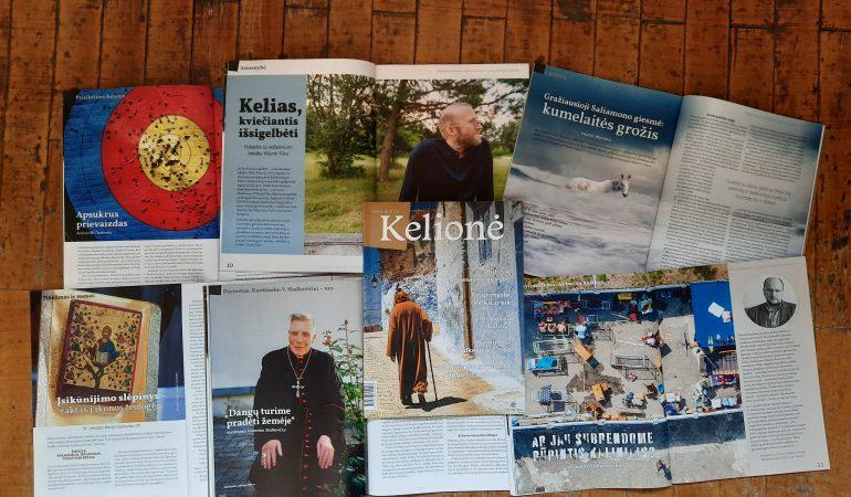 """Žurnalas """"Kelionė"""": apie Kelią, kviečiantį juo eiti"""