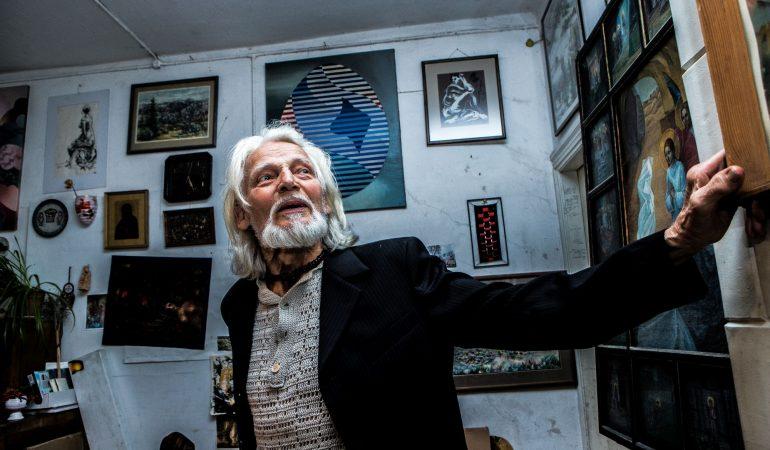 Ignas Algirdas Stanys. Fotonovelė VI: tekstilininkas Anicetas Jonutis