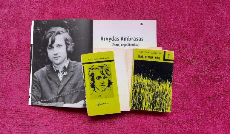 Savosios kartos balsas: poetas Arvydas Ambrasas