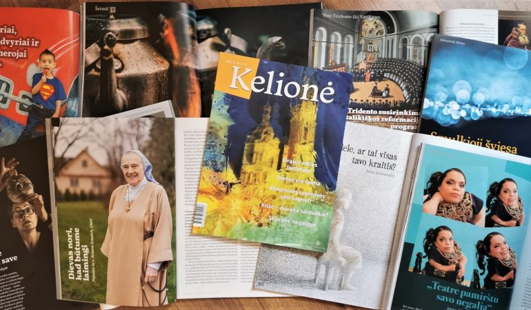 """Žurnalas """"Kelionė"""": apie viltį, kuri leidžia mūsų silpnume sušvytėti stiprybei"""