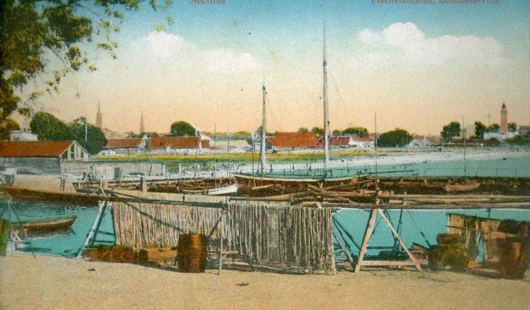 Bomelsvitės žvejų uostelis amžių sandūroje
