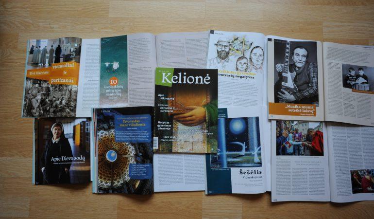 """Žurnalas """"Kelionė"""": žengti į kelią su dėkingumu"""
