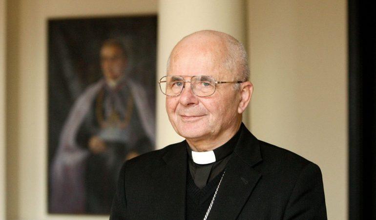 """Kardinolas Sigitas Tamkevičius: """"Tikėjimas lengvino kalėjimo kryžių"""""""