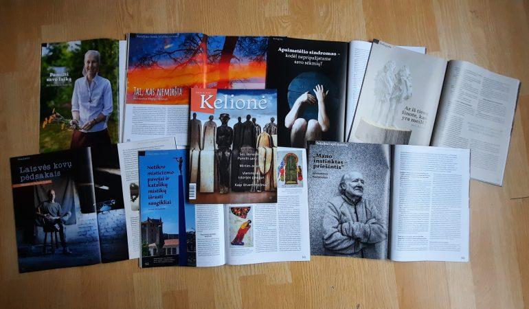 """Žurnalas """"Kelionė"""": apie vidines keliones, plečiančias ribas"""