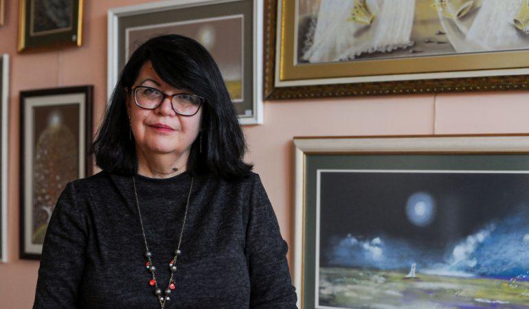 Gyvenimo su vėžiu būsenas dailininkė sudėjo į knygą