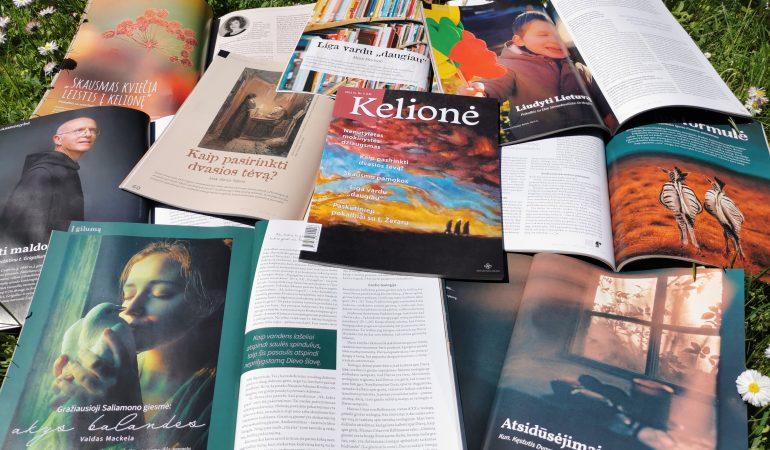 Žurnalas Kelionė 2021 m. Nr. II. s. Faustinos nuotrauka