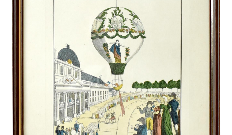 Birželio 4-oji istorijoje. Į dangų kyla oro balionas
