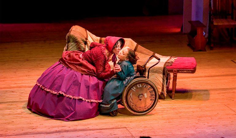 """Inga Filipovič. """"Teatre pamirštu savo negalią"""""""