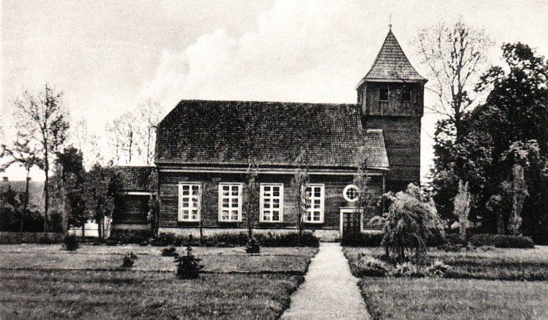 Šilėnų evangelikų liuteronų bažnyčia XX a. pirmoje pusėje