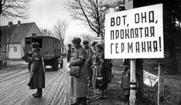 Sovietų kariuomenė Rytprūsiuose
